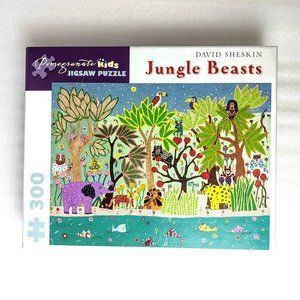 Jungle Beasts Jigsaw Puzzle